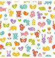 Baby seamless wallpaper vector