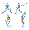 Sports stylized vector
