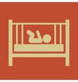 Maternity flat icon vector