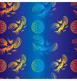 Dragon background vector