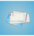Envelopes and card vector