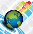 Global abstract design vector