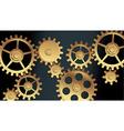 Machine gears vector