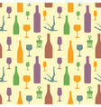 Abstract wine seamless pattern vector
