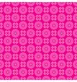 Crimson seamless pattern - geometric vector