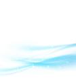 Modern abstract hi-tech blue speed wave swoosh vector