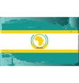 African union flag vector