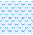 Seamless pattern with bitterflies vector