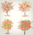 Designs with decorative tree vector