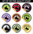 vector quality stamp vector