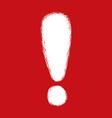 Alert symbol design vector