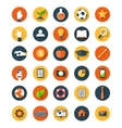 Set of flat icon vector