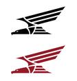 Predatory eagle for tattoo design vector