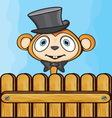 Majmunce ograda resize vector