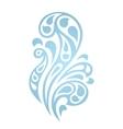 Water splash waves abstract design element vector