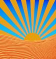 Background sun beams vector
