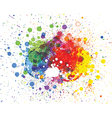Abstract spots background with place for your text vector