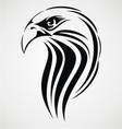 Eagle head tribal vector