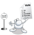 Man vote vector