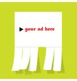 Ad banner vector