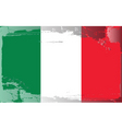 Italy national flag vector