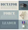 Flat military soldier equipment set design concept vector