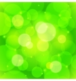 Green bokeh effect abstract background vector