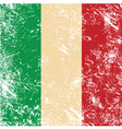 Italy retro flag vector