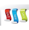 Web page sticker vector