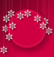Abstract christmas card background vector
