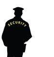Security man color vector