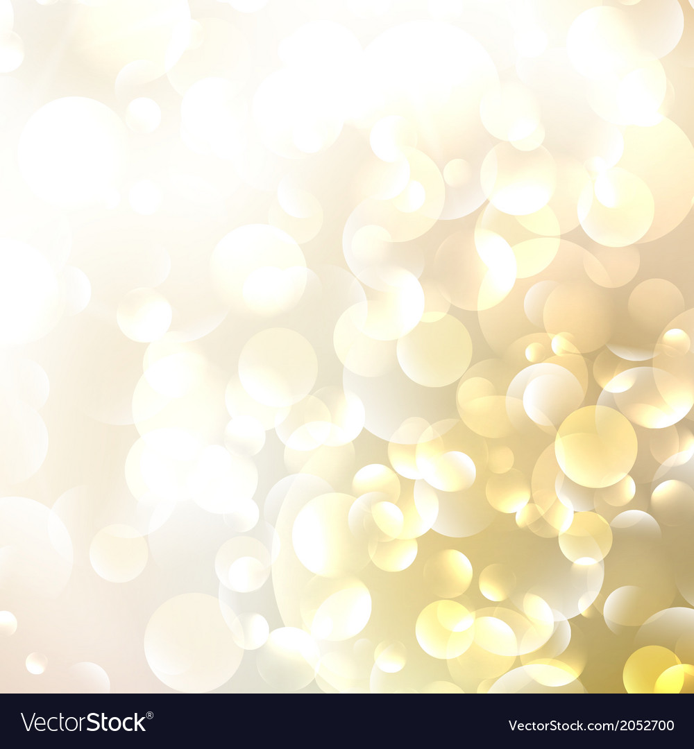 Beautiful defocused golden background vector | Price: 1 Credit (USD $1)