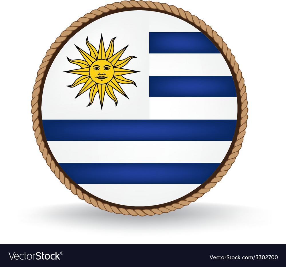 Uruguay seal vector | Price: 1 Credit (USD $1)