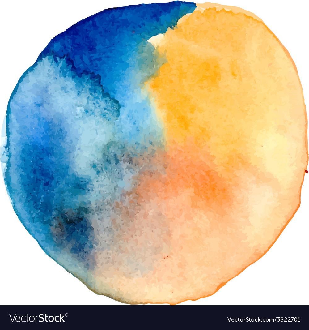 Watercolor spot vector | Price: 1 Credit (USD $1)