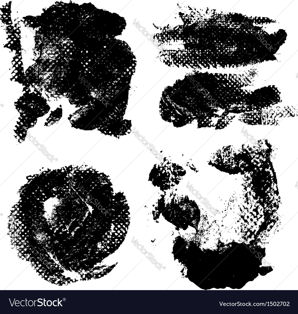 Abstract prints and stains of paint vector | Price: 1 Credit (USD $1)