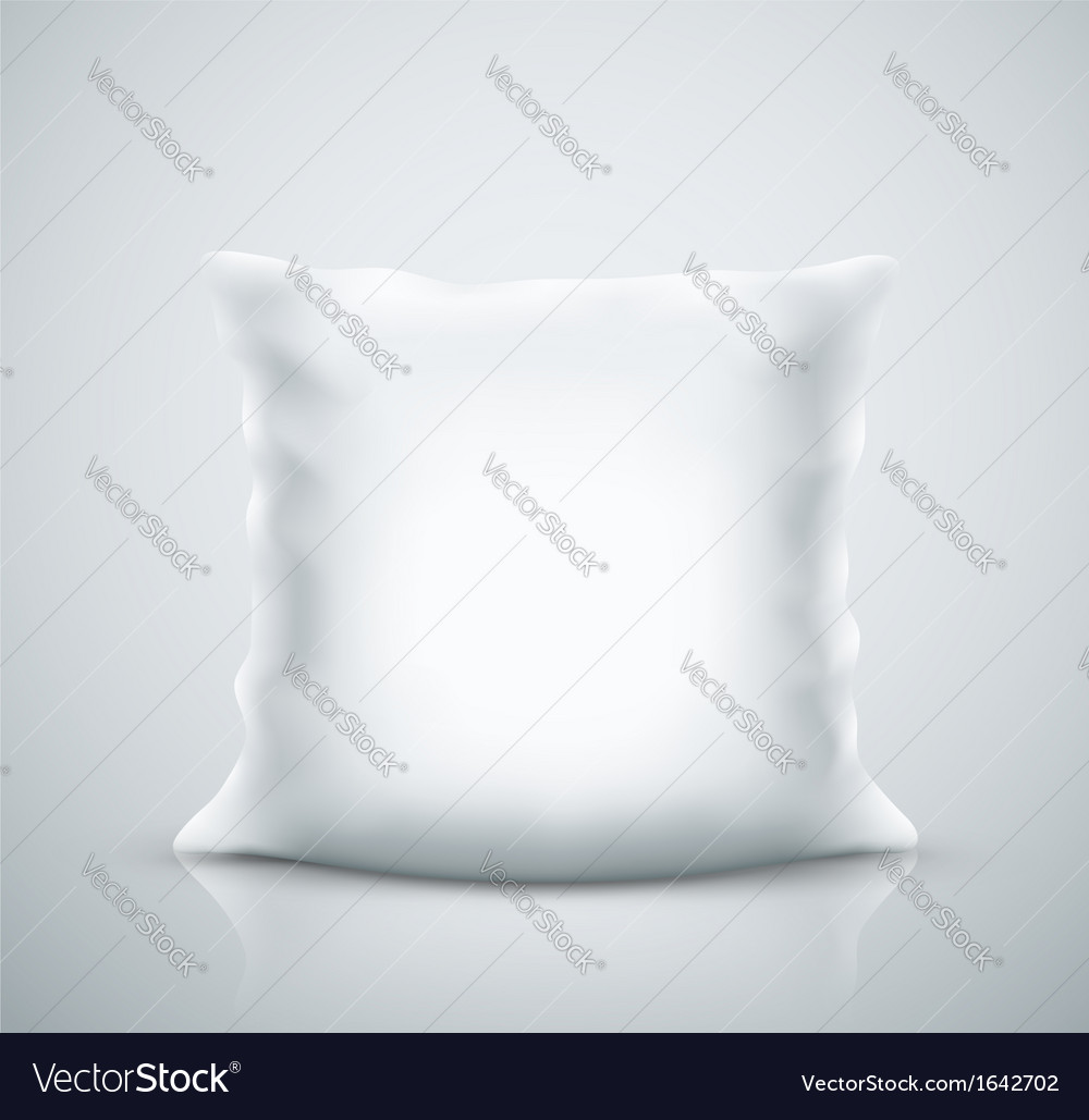 Isolated pillow vector | Price: 1 Credit (USD $1)