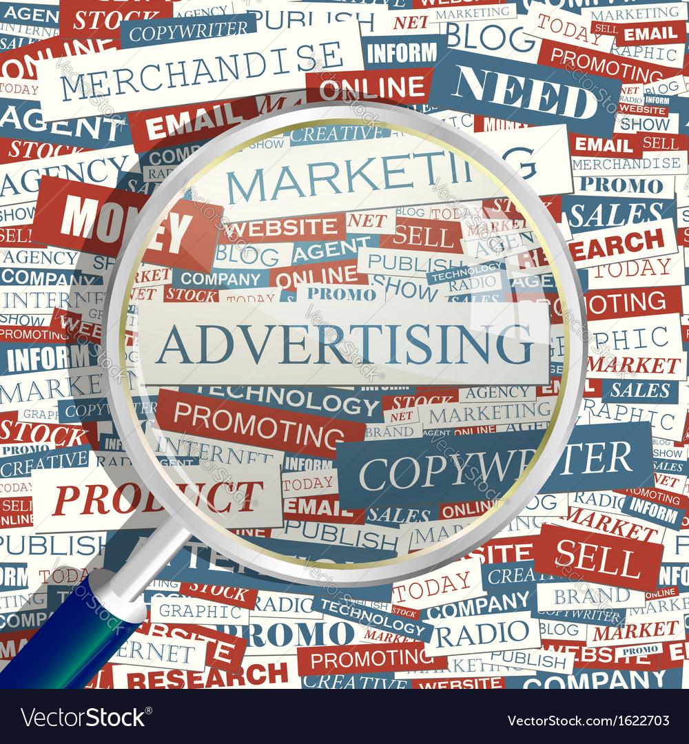 Advertising vector | Price: 1 Credit (USD $1)
