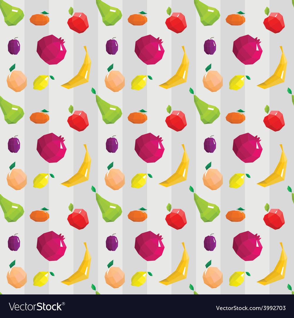 Fruitflat patt vector | Price: 1 Credit (USD $1)