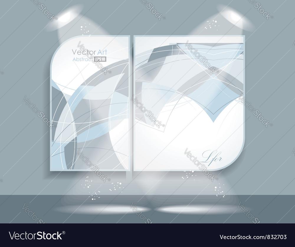 Gallery interior vector | Price: 1 Credit (USD $1)