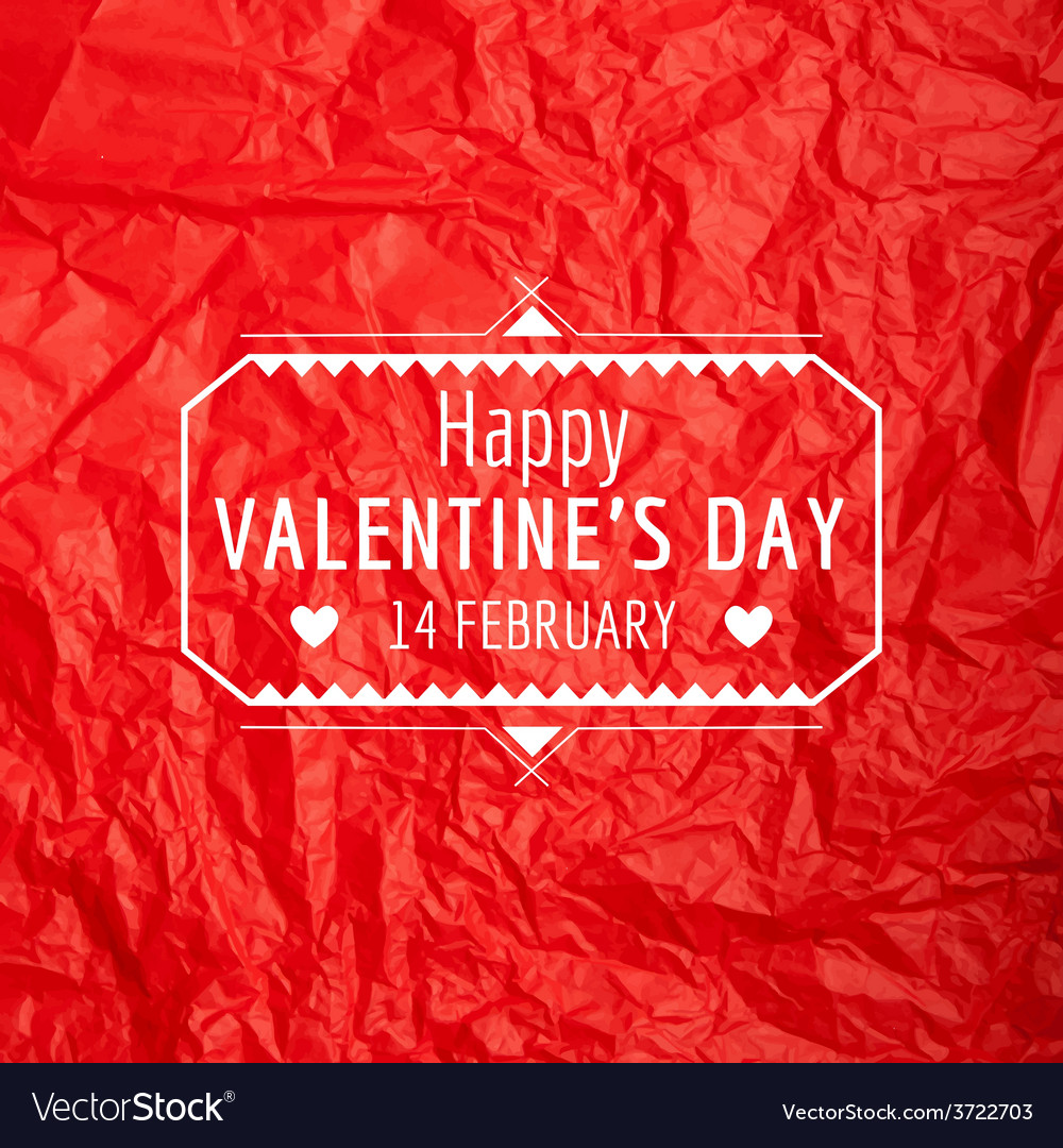 Valentines day card - with love quote vector   Price: 1 Credit (USD $1)