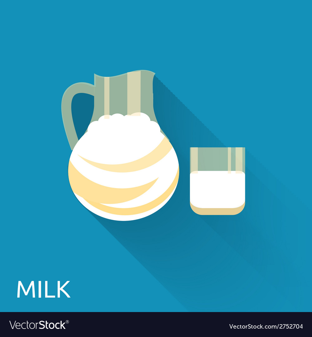 Milk icon vector | Price: 1 Credit (USD $1)