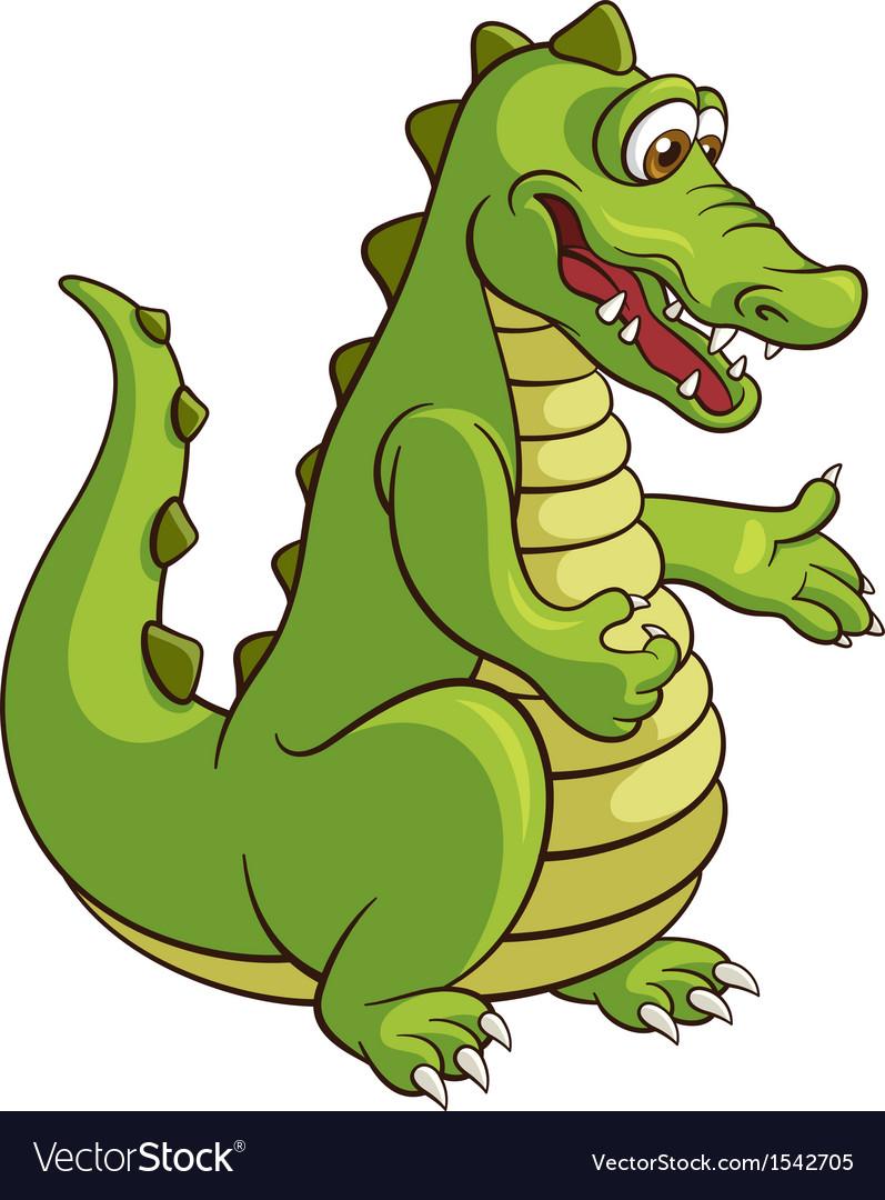 Crocodile vector | Price: 3 Credit (USD $3)