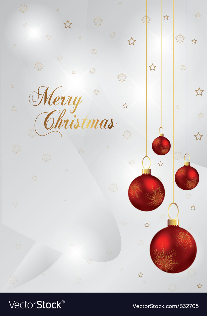 Elegant christmas background with red and gold chr vector   Price: 1 Credit (USD $1)