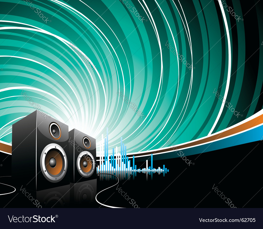 Illustration for a musical theme vector | Price: 1 Credit (USD $1)