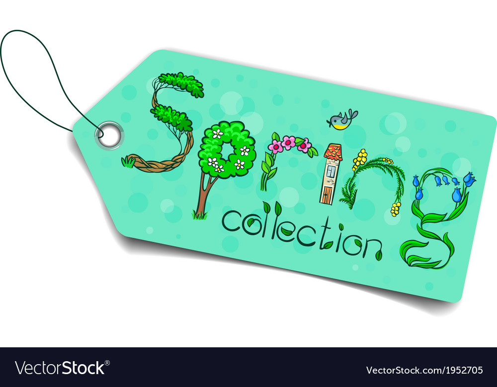 Spring collection vector | Price: 1 Credit (USD $1)