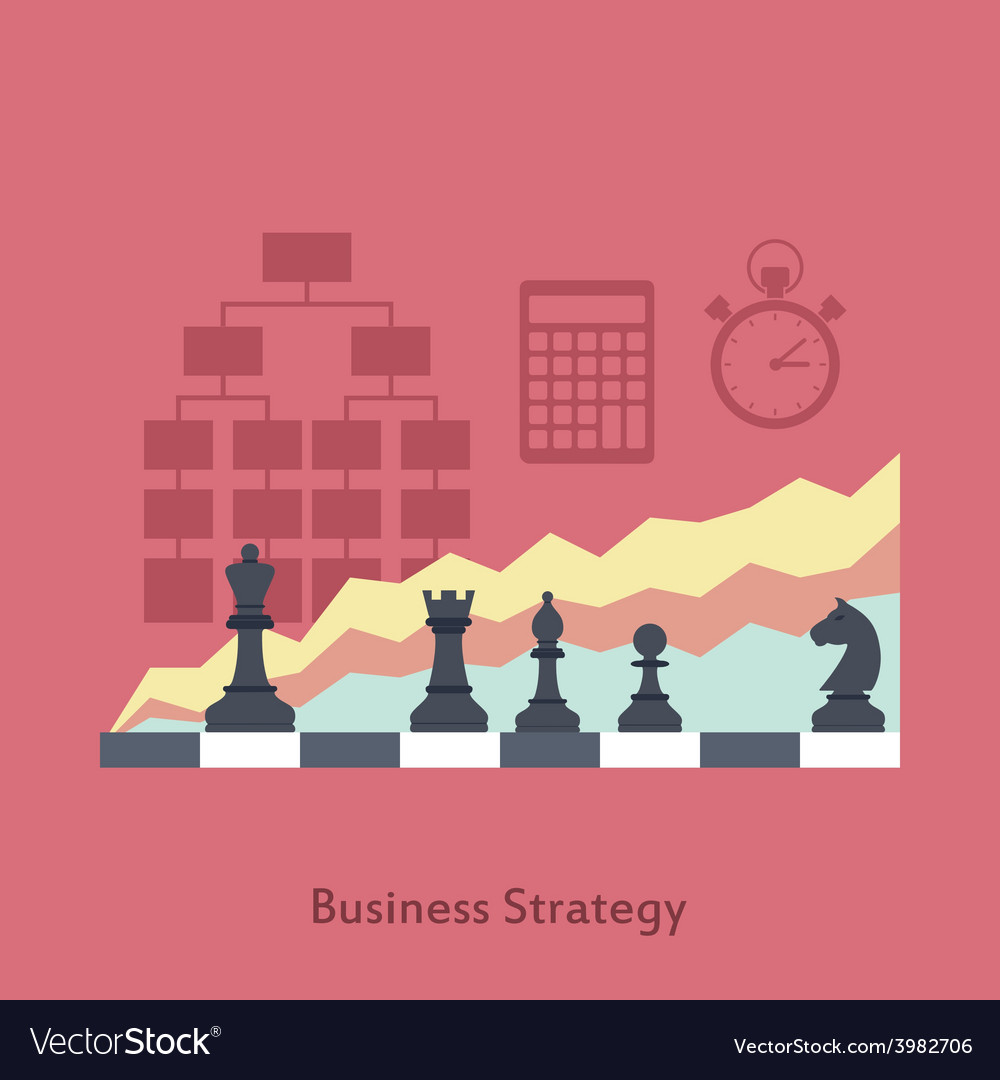 Business strategy vector | Price: 1 Credit (USD $1)