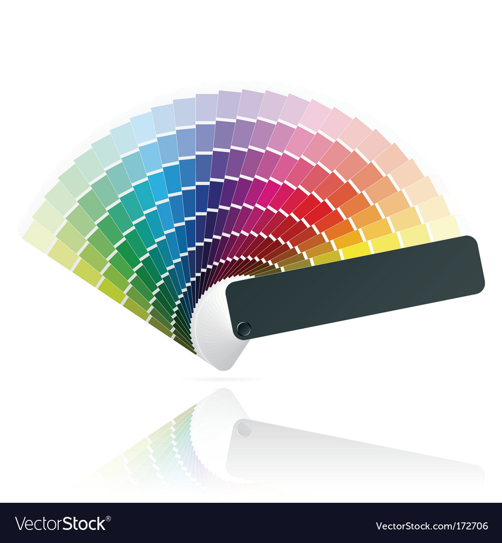Color fan vector | Price: 1 Credit (USD $1)