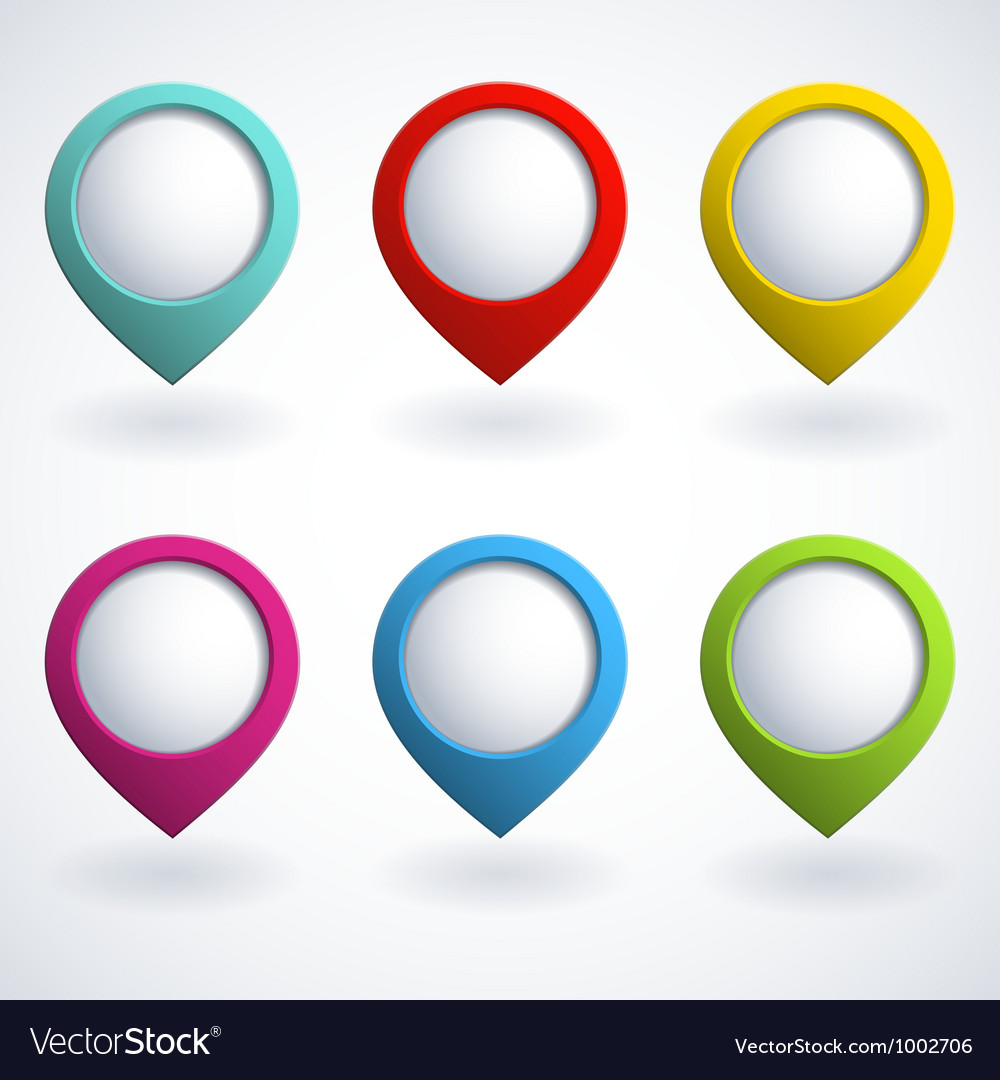 Color web buttons vector | Price: 1 Credit (USD $1)