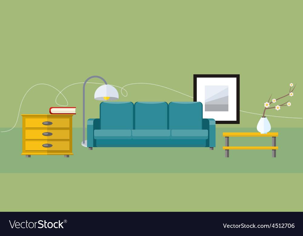 Furniture icon set vector | Price: 1 Credit (USD $1)