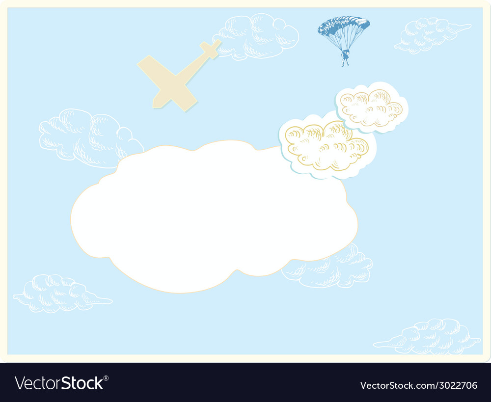 On the sky vector | Price: 1 Credit (USD $1)